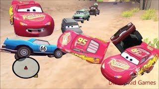 Disney Pixars Cars Movie Game - Crash Mcqueen 207 - Backwards Traffic