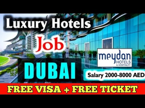 Jobs In Dubai 2020 || 5 Star Hotels Job Dubai || Salary 8000 AED || Gulf Job Solutions