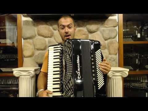 How to Play Balkan Music on Piano Accordion - Lesson 2 - Balkan Ornamentation Inverted Mordents