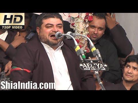 19th Safar Abbas Ka Chehlum Majlis Ibadath Khana-e-Hussaini 1438-2016