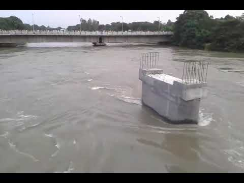 Raiganj town at risk if water bariar breakdown 14 August 2017