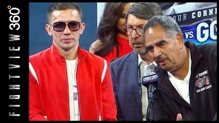 GGG & ABEL HUMBLE IN DEFEAT! ROBBERY? 3RD FIGHT? CANELO GGG 2 POST FIGHT PRESS CONFERENCE RECAP!