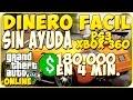 TRUCOS GTA 5 ONLINE - DINERO FACIL ,RAPIDO Y SIN AYUDA - GTA 5 PS3 Y XBOX 360
