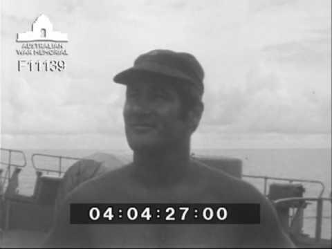 HMAS Supply in the Seychelles