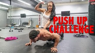 Max Push Ups With My Girlfriend On My Back!