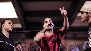 Duelo de MCs - Well vs Vinição vs Albin :: Eliminatorias Duelo de MCs Nacional BH - 17/05/13