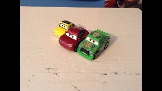 Disney Cars Mini Racers Chick Hicks, Natalie Certain, and Luigi Review