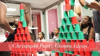 Fun Game Ideas For Christmas Game Night  | Lit Family Game Night For the Holidays