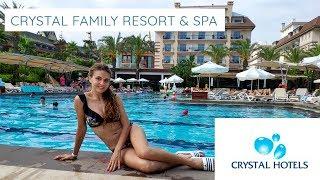Отдых в Турции 2019 CRYSTAL FAMILY RESORT & SPA 5* Belek|Turkey| Турция, Белек|Кристал Фемили Хотелс