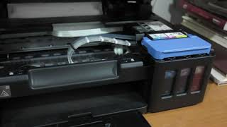 ▶SOLUCIÓN◀  falla alimentación de tinta, Multifuncional Canon Pixma G3110