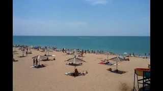 Пляж. Крым Саки База отдыха