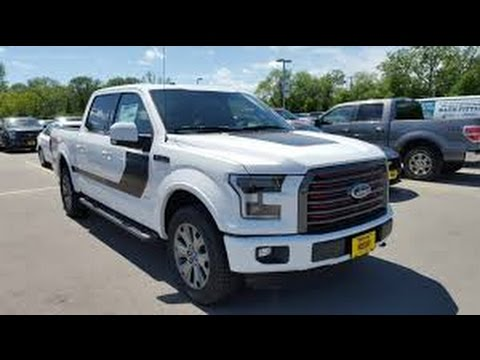 2017 Ford F150 Lariat Sport Special Edition 4x4 Super Crew 502a