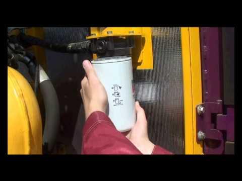 8. Порядок замены масла в двигателе экскаватора ЧЕТРА ЭГП-230