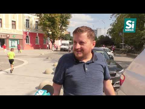 Після відкриття відремонтованої частини площі Петефі у центрі Ужгорода