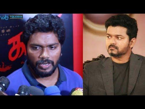 Next movie with Vijay ? - Pa Ranjith reveals | Open Speech