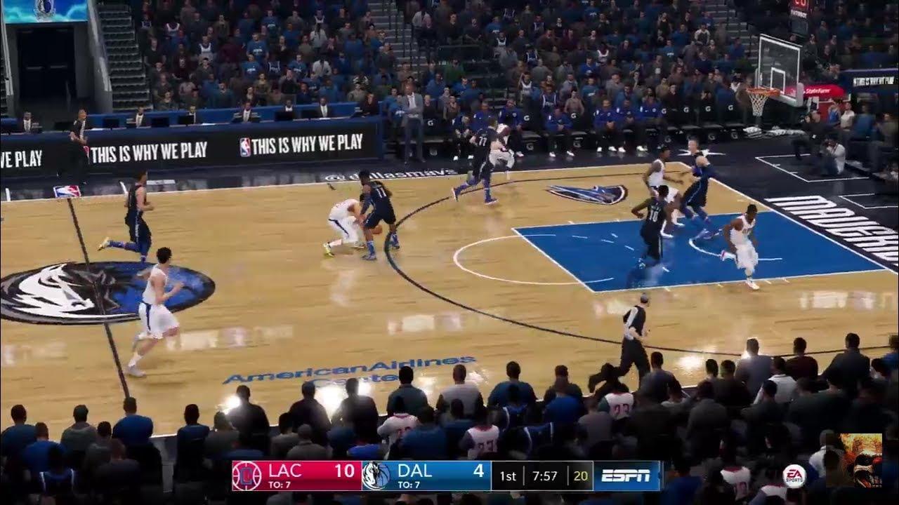 Nba Live 19 Clippers Vs Mavericks Live Stream