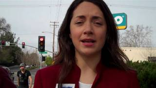 Environment California at Sacramento Valero gas station to oppose their initiative against AB 32