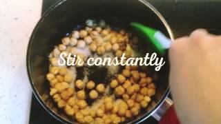 Божественные орехи в карамели (быстрый рецепт)