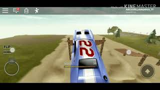 PERFECT JUMP THE CAR ON ROBLOX