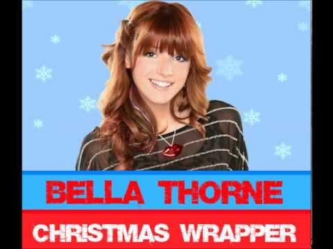 bella thorne - christmas wrapper