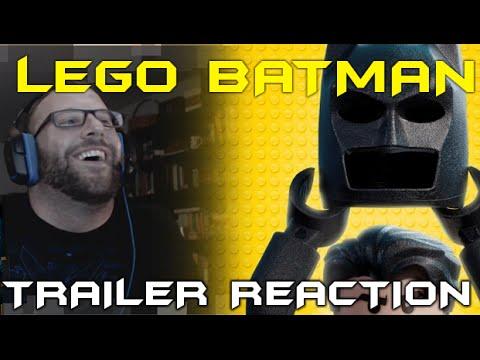 The Lego Batman Movie Comic-Con Trailer Reaction - YouTube