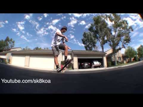 Penny Board Tricks! Tiger Claw, Old School Kickflip, Ghost Kickflip, Indian Burn :D