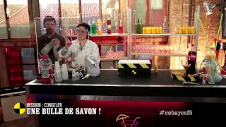 Défi : congeler une bulle de savon ! - On n'est pas que des cobayes #cobayesF5