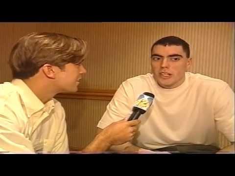 Ignacio Kliche entrevista a Daniel Santiago en el All Star Game 2001