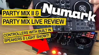 Numark Party Mix II & Party Mix Live Review - Fun Controllers for Serato & More!