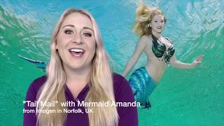 """Tail Mail"" with Weeki Wachee Mermaid Amanda from Imogen in Norfolk, UK"