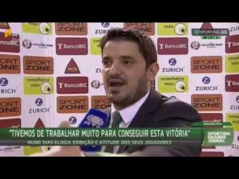 Futsal :: 19J :: Fundão - 1 x Sporting - 4 de 2015/2016