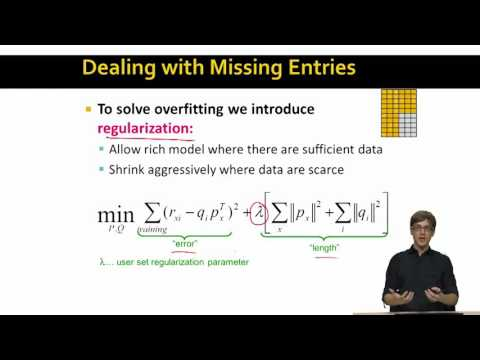 Finding the Latent Factors | Stanford University