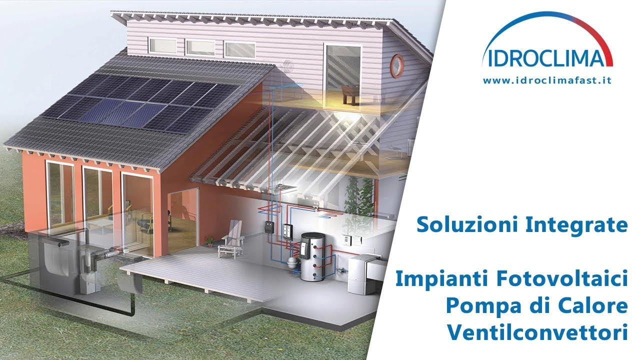 Pompa Di Calore Ventilconvettori soluzioni integrate per la tua casa - idroclima