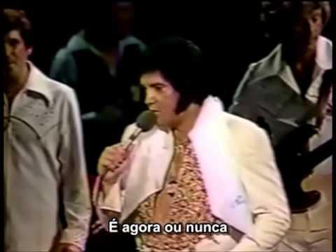 "Elvis Presley ""It's Now Or Never"" (com Legendas)"