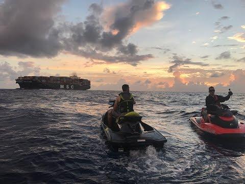 Miami to Bahamas on jet skis sea-doo's july 2017