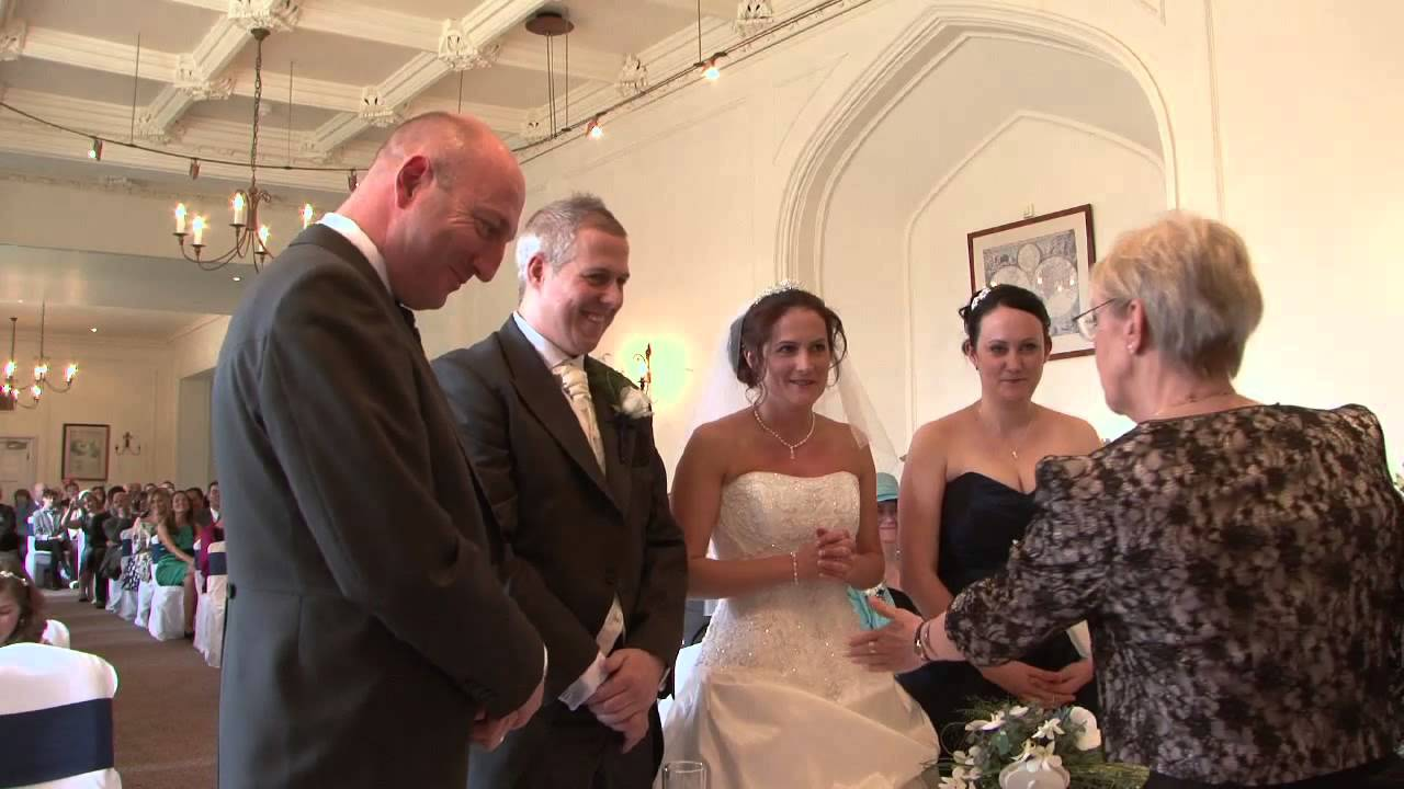 civil ceremony wedding youtube