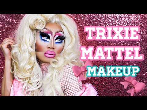 Trixie Mattel Drag Makeup Tutorial ▷ Marc Zapanta