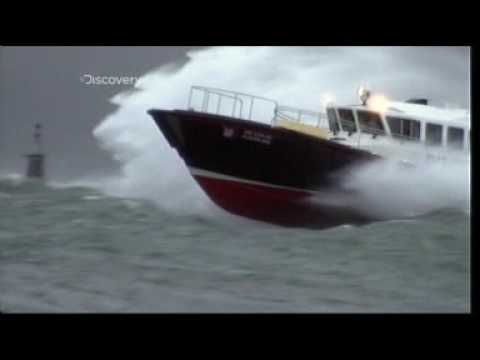 Storms at Sea, Discovery channels Raging Planet  feature on Safehaven Marine