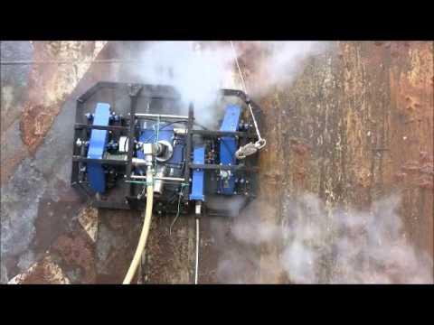 water blast machine