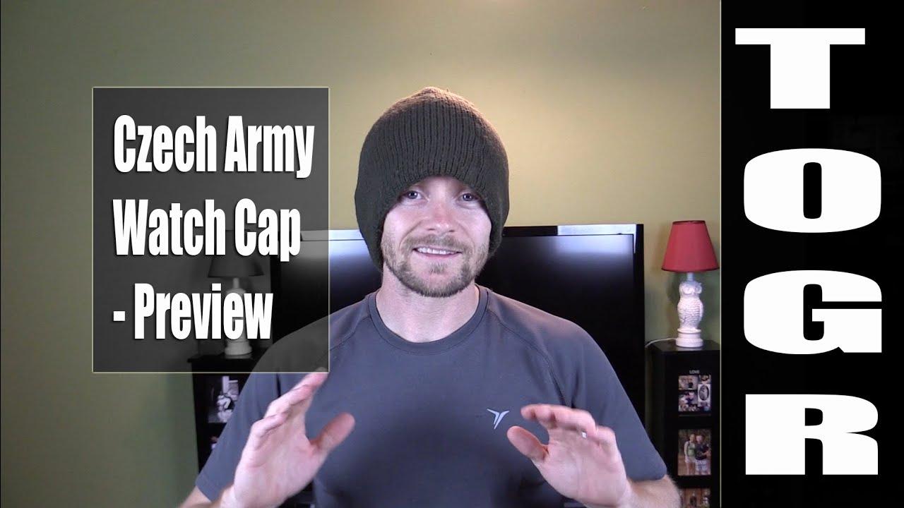 Czech Army Watch Cap - Preview