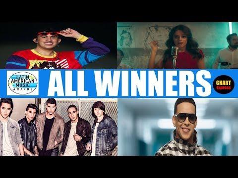 Latin American Music Awards 2018 - ALL WINNERS | LAMA's 2018 | October 25, 2018 | ChartExpress