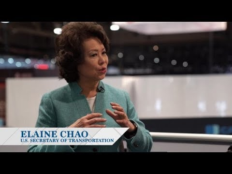 Elaine Chao On Innovation In Drones, Self-Driving Cars