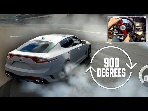 Forza 7 Can i Still Drift Online on 900 Degrees?? NEW Fanatec Wheel! | SLAPTrain