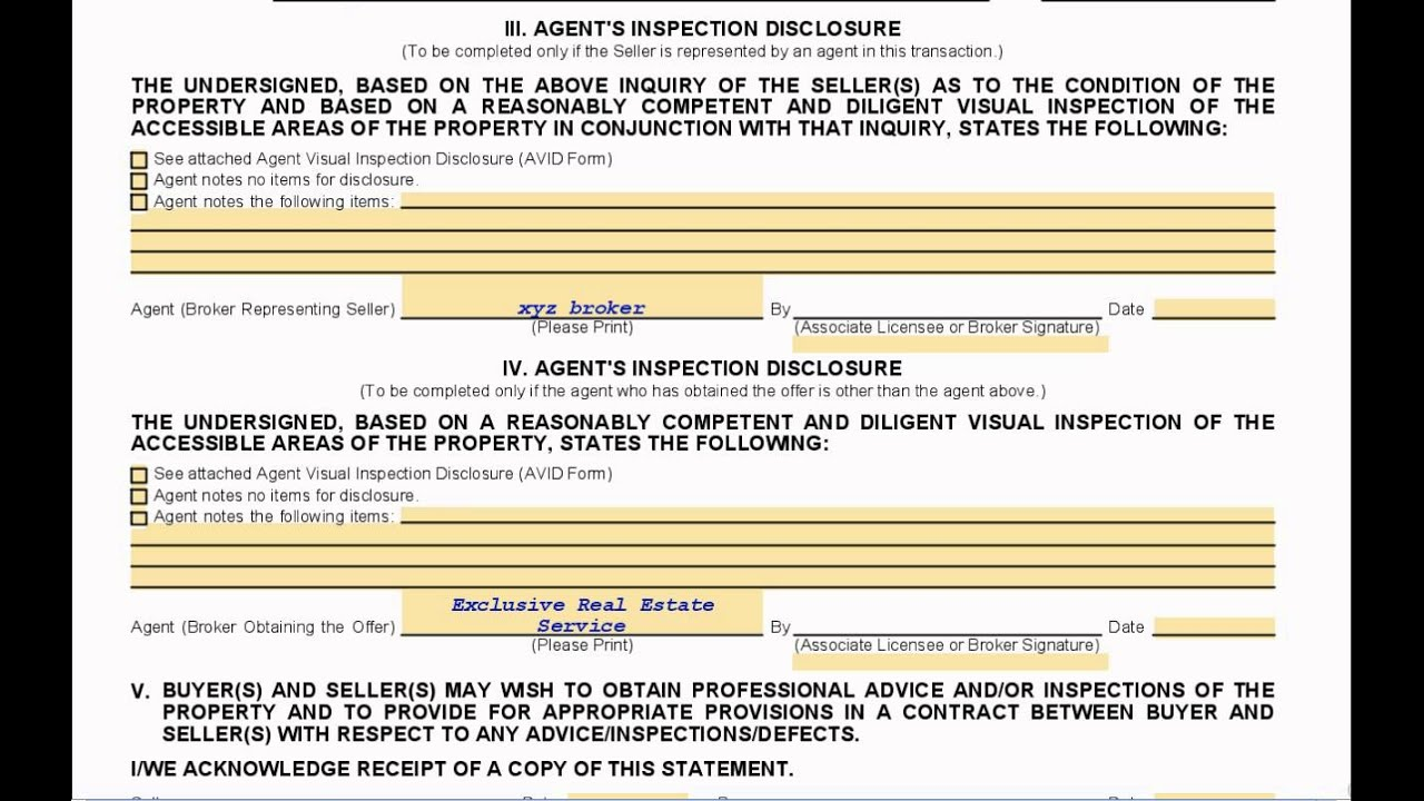 What is the California Real Estate Transfer Disclosure Statement ...