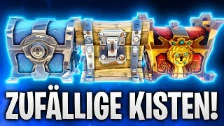 ZUFÄLLIGE KISTEN CHALLENGE! 🌴 | Fortnite: Battle Royale