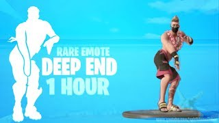 FORTNITE DEEP END EMOTE 1 HOUR (Leaked Skins Included!) (Music Download Included!)