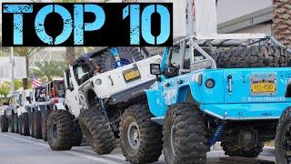 Top 10 Jeeps of Daytona Jeep Beach 2019