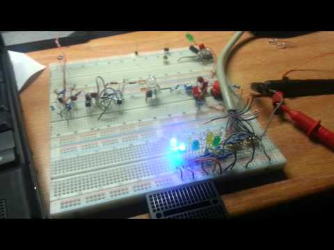 control parallel port with dos