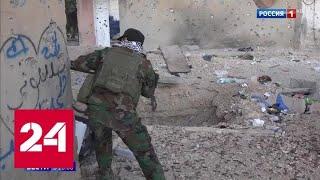 Сирия: арабы и курды плечом к плечу охраняют границу от турецких солдат - Россия 24