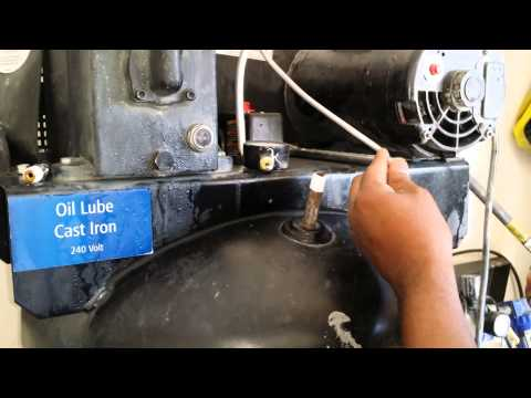 How to replace air compressor pressure switch 60 gallon